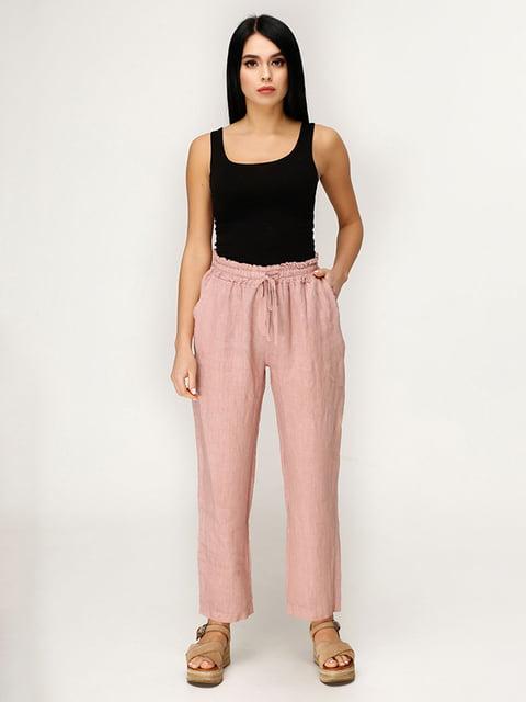 Штани рожево-коричневого кольору Favoritti 4949848