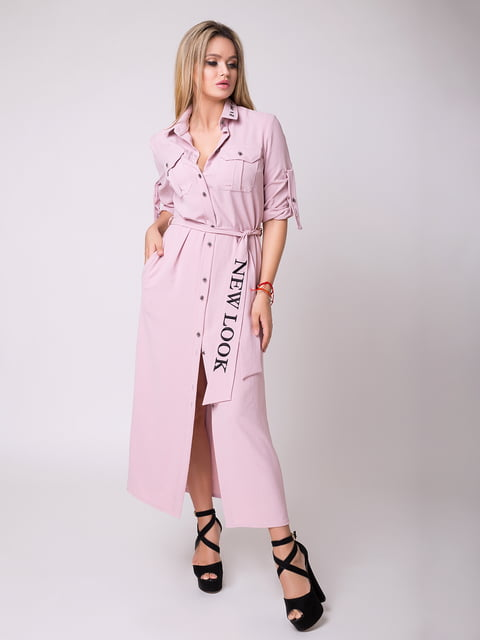 Платье розовое Luzana 5066747