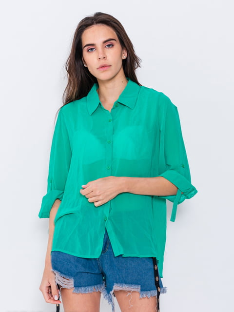 Рубашка зеленая Magnet 5029562