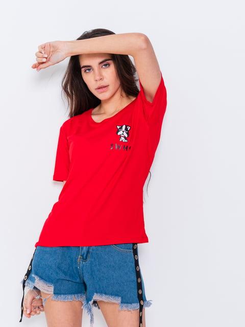 Футболка красная Magnet 5066816