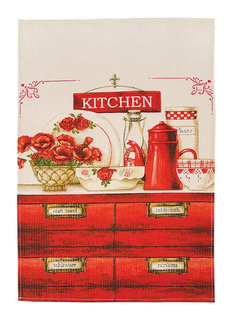 Рушник кухонний вафельний (45х75 см) Ярослав 5059943