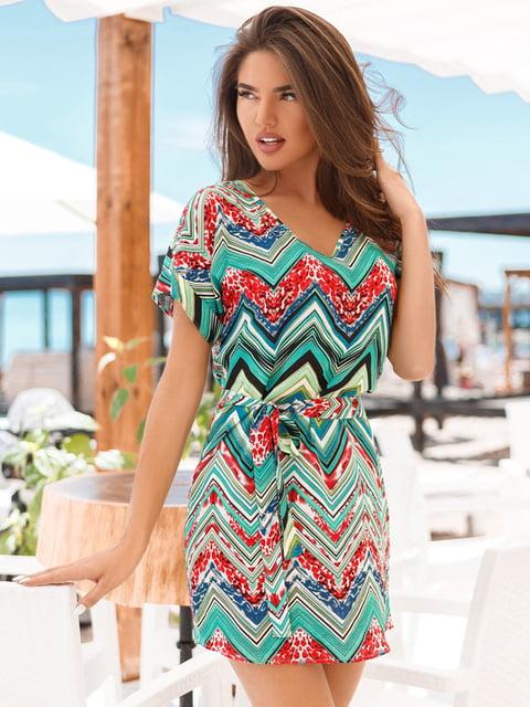 Платье в принт Gepur 4854044