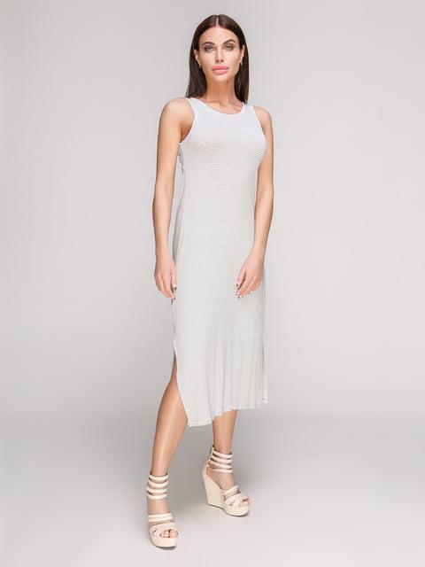 Сукня біла в смужку Stradivarius 3797767