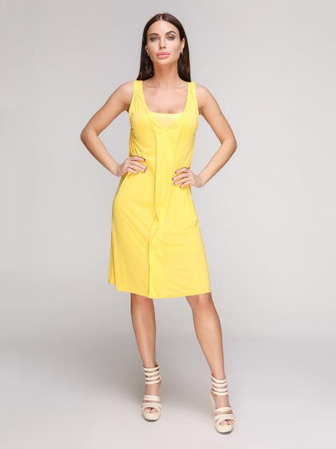 Сарафан жовтий Mango 2354926