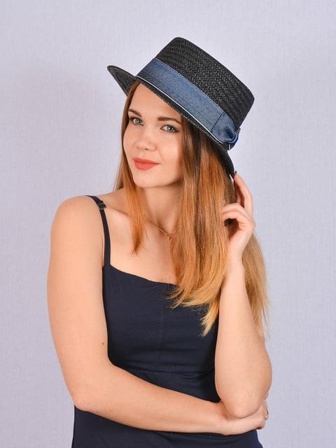 Шляпа черная Fashion Look 5070845