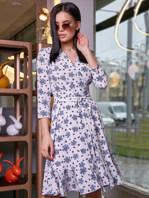 Платье в цветочный принт Seventeen 5071212