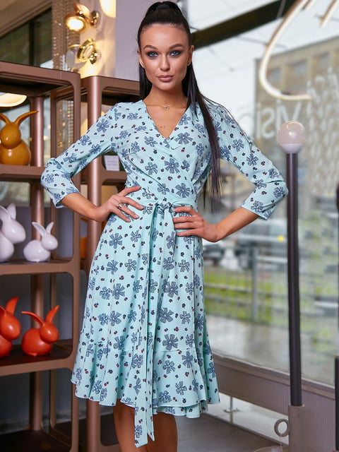 Платье в цветочный принт Seventeen 5071227