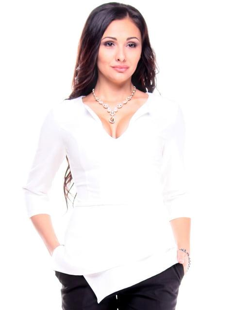 Блуза молочного цвета Dioni 4807678
