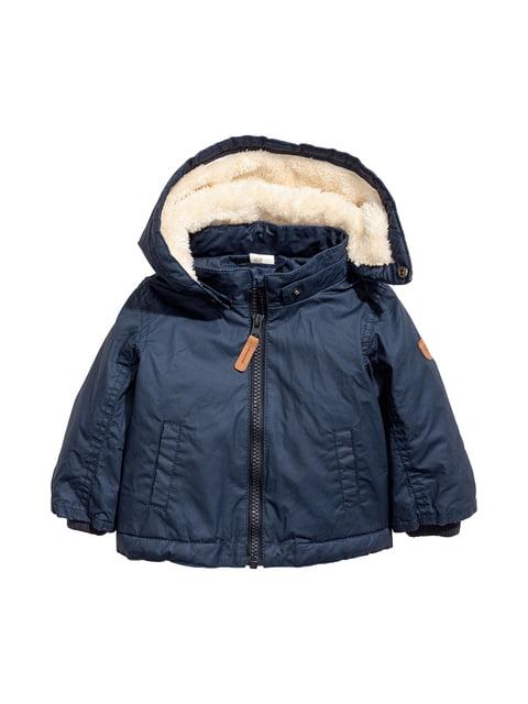 Куртка темно-синяя H&M 5047354