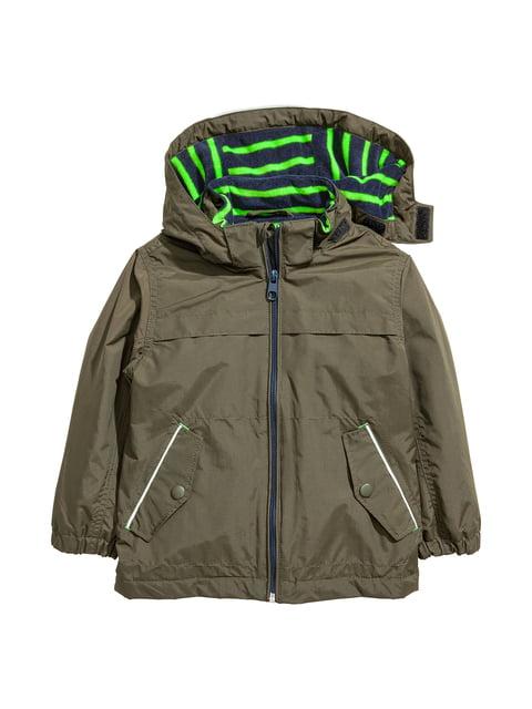 Куртка кольору хакі H&M 5047367
