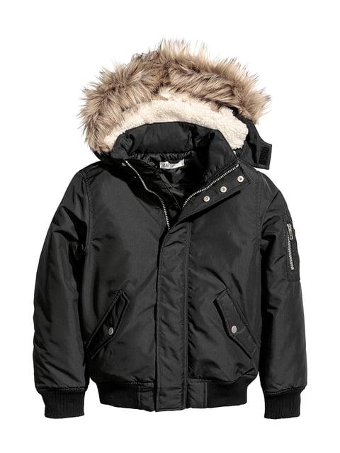 Куртка черная H&M 5047392