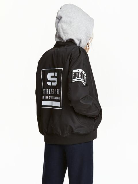 Куртка черная H&M 5047430