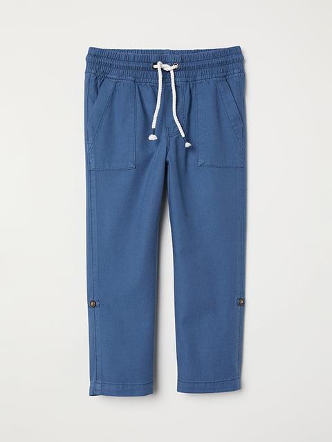 Брюки синие H&M 5072780