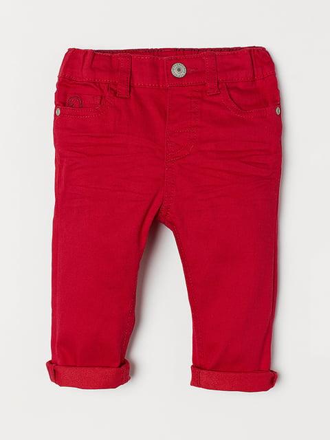 Брюки красные H&M 5073174