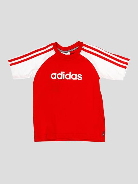 Футболка красная Adidas 3478189