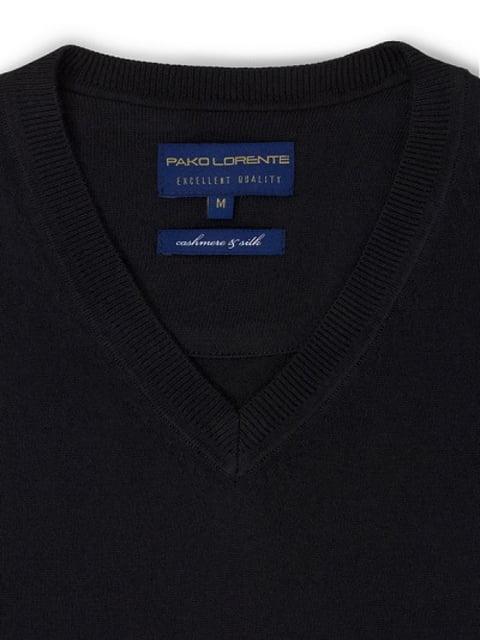 Пуловер черный PAKO LORENTE 4823039