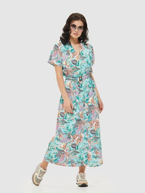 Сукня в квітковий принт Mila Nova 5075491