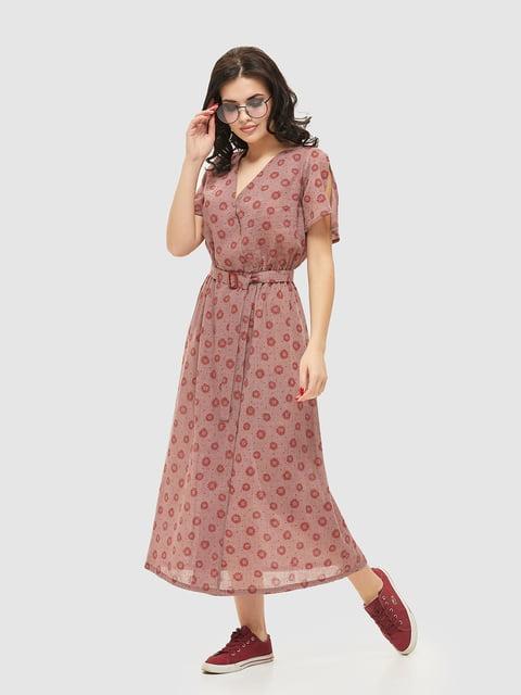 Сукня в принт Mila Nova 5075494