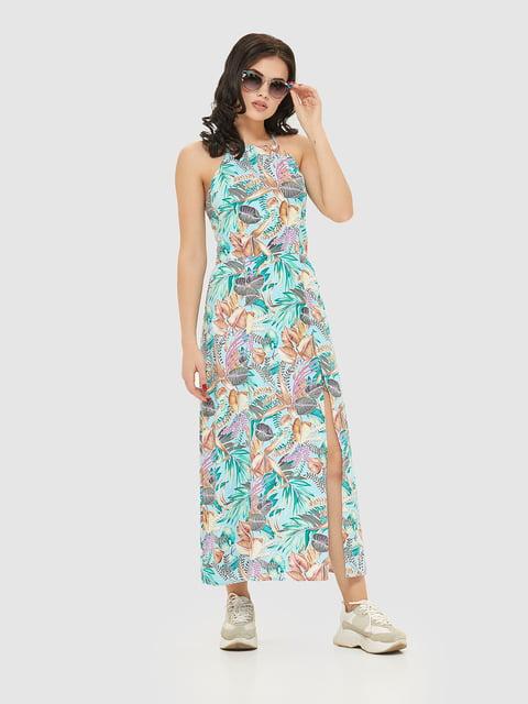 Сукня в квітковий принт Mila Nova 5075495