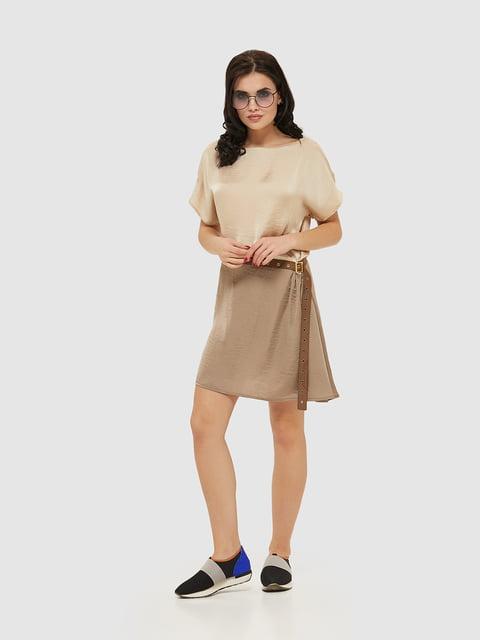 Сукня кольору капучіно Mila Nova 5075472