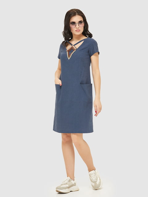 Сукня синя Mila Nova 5075498