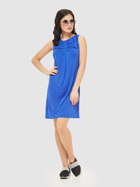 Сукня кольору електрик Mila Nova 2444492