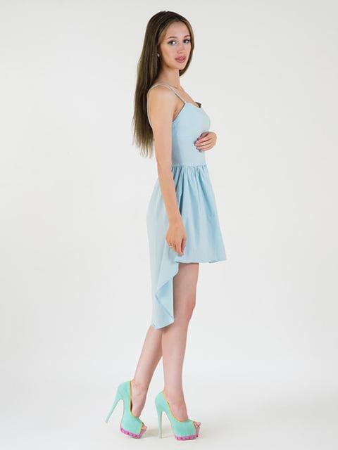 Платье голубое Podium 5035188