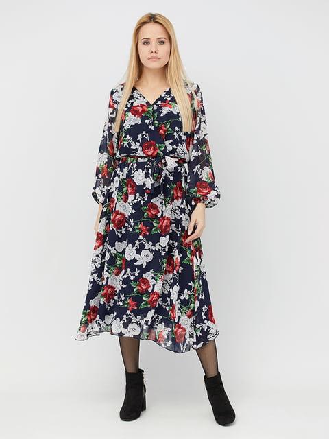 Платье в цветочный принт BesTiA 5076448