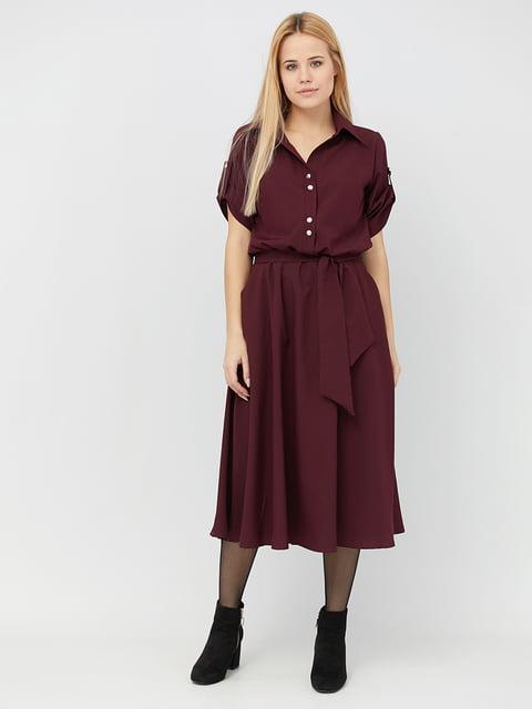Платье бордовое Alana 5076499