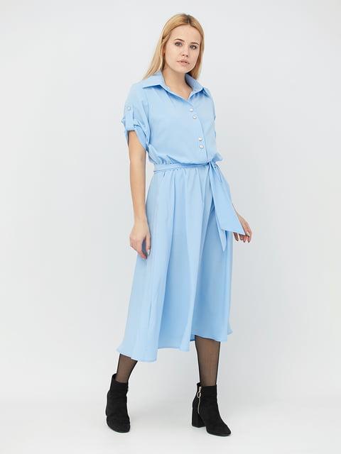 Платье голубое Alana 5076500