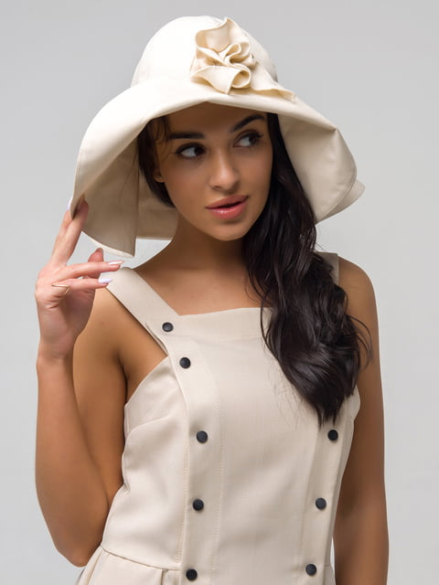 Шляпа бежевая First Land Fashion 5076538