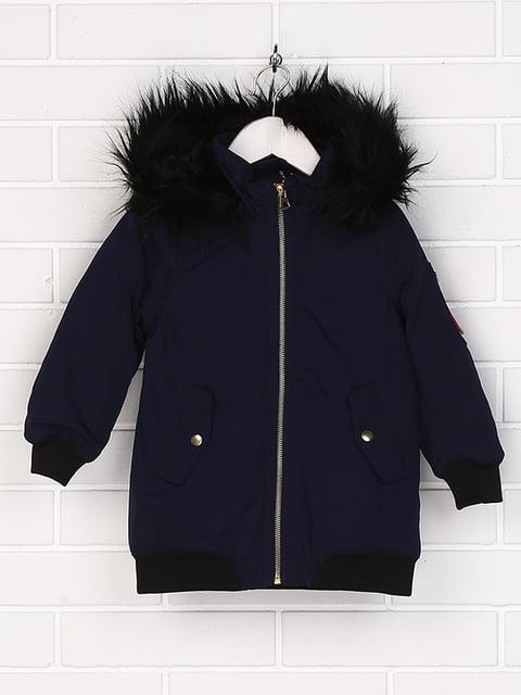 Куртка темно-синяя H&M 5012293