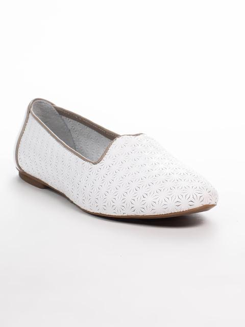 Балетки белые Phany 4915312
