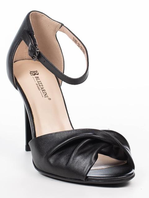 Босоножки черные Blizzarini 5062253