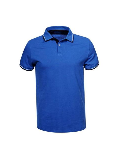 Футболка-поло синяя Glo-Story 5075520