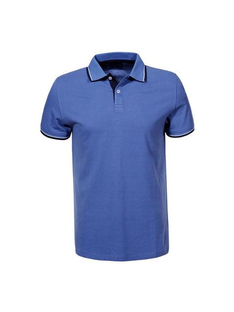 Футболка-поло синя Glo-Story 5076037