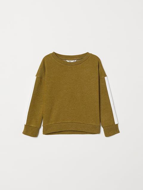 Свитшот зеленый H&M 5072788