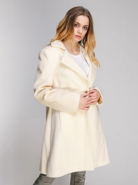 Пальто молочного цвета PINK PEARL 4716478