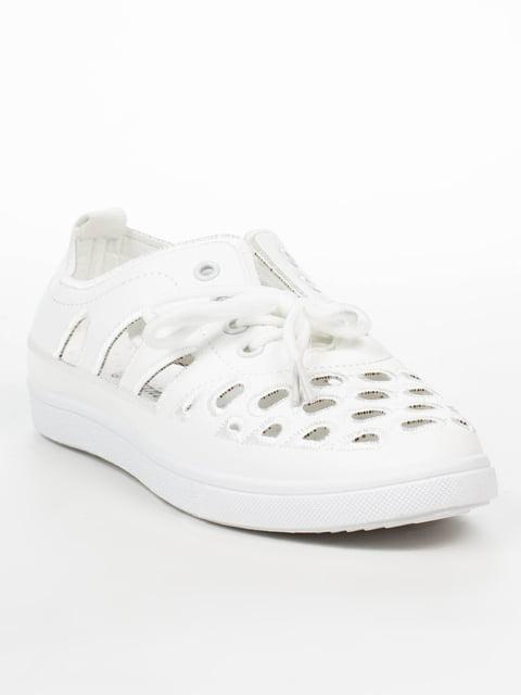 Слипоны белые Princess 5080865