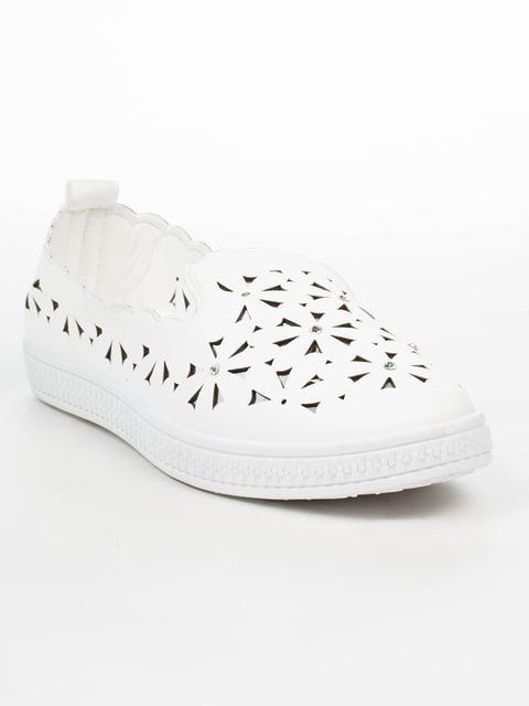 Слипоны белые Princess 5080864