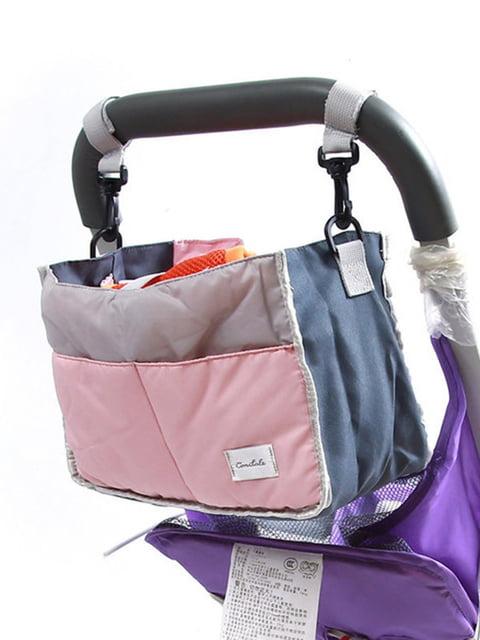 Сумка на коляску для детских вещей и мелочей Веселі подарунки 4856178