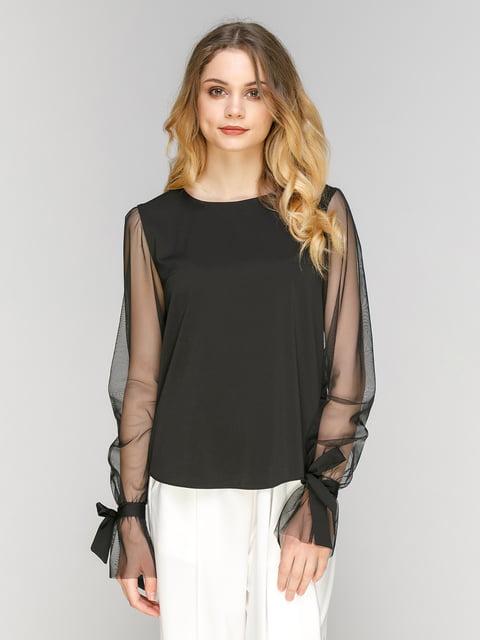Блуза чорна Zubrytskaya 5077699