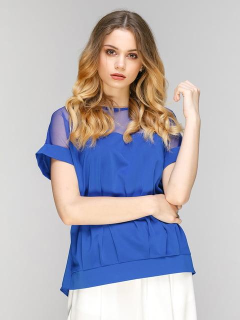 Блуза цвета электрик Zubrytskaya 5077805