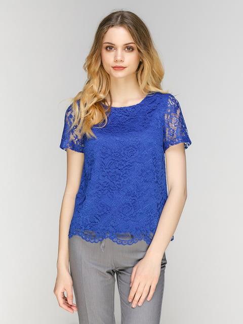Блуза цвета электрик Zubrytskaya 5077773