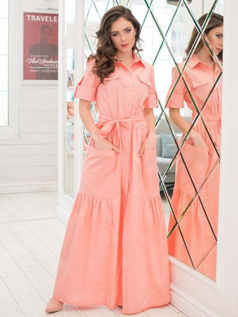 Сукня кольору пудри ELFBERG 5081850