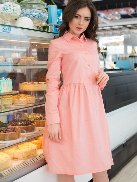 Сукня кольору пудри ELFBERG 5081854