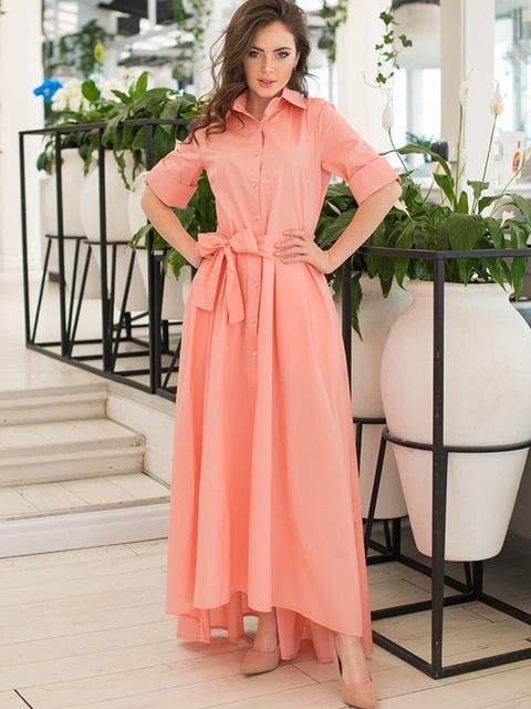 Сукня кольору пудри ELFBERG 5081864