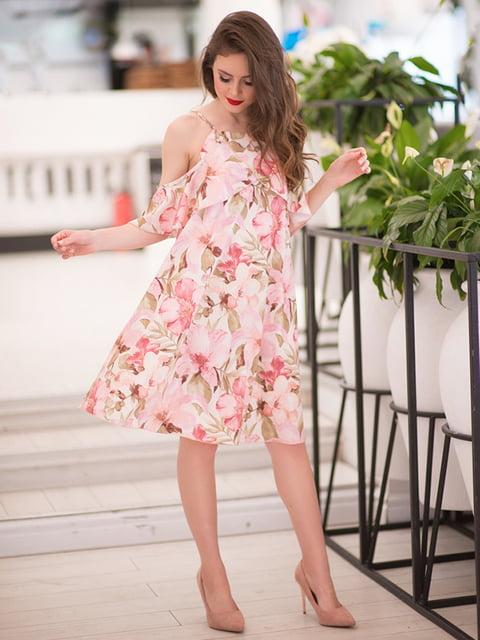 Сукня кольору пудри ELFBERG 5081881