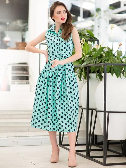 Сукня в принт ELFBERG 5081904