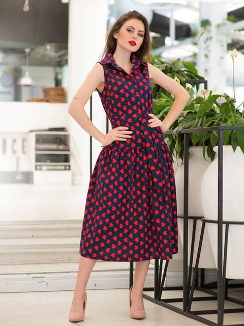 Платье в принт ELFBERG 5081906